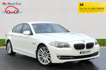 BMW 5 SERIES 525d SE RARE WHITE COLOUR CLEAN CAR