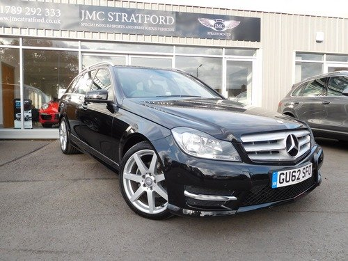 Mercedes C Class 2.1 C 220 CDI BLUEEFFICIENCY AMG SPORT LOW RATE FINANCE AT 6.9% APR Representative