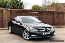 Mercedes C Class 2.1 C250 CDI BlueEFFICIENCY AMG Sport 2dr