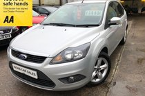 Ford Focus ZETEC 1 OWNER ONLY 61,000 FSH VERY CLEAN EXAMPLE PX WELCOME FINANCE AVAILABLE