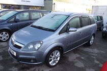 Vauxhall Zafira 1.9CDTI  DESIGN DPF 150PS - Luxury 7 Seater - Great MPG & Power - FSH - Winter Bargain £200 Off ****
