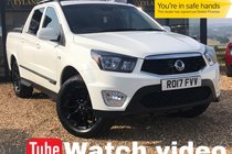 Ssangyong Musso EX HEATED LEATHER + REVERSE CAMERA + MOUNTAIN TOP