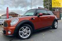 MINI One D ONE D used car in metallic spiced orange