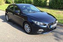 Mazda 3 SE NAV 1 LADY OWNER MAZDA SERVICE HISTORY SAT NAV AIR CON BLUETOOTH