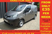 Nissan NV200 DCI SE###NO VAT TO PAY###6 MONTH WARRANTY-12 MONTH MOT-12 MONTH AA COVER-12 MONTH FULL SERVICE