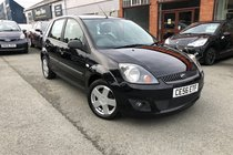 Ford Fiesta ZETEC CLIMATE 16V 2 keys, 8 service stamps and will come with a Sales Service, 12 months MOT and 3 Months Warranty.