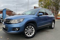 Volkswagen Tiguan SE TDI BLUEMOTION TECHNOLOGY used car in Blue