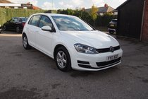 Volkswagen Golf S TDI BLUEMOTION TECHNOLOGY ZERO TAX ! FULL SERVICE HISTORY ! LOW MILES ! 99% FINANCE APPROVAL !