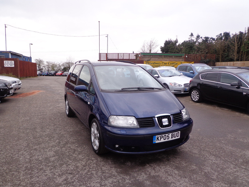 seat alhambra 1 9 tdi 130 stylance thornbury car centre. Black Bedroom Furniture Sets. Home Design Ideas