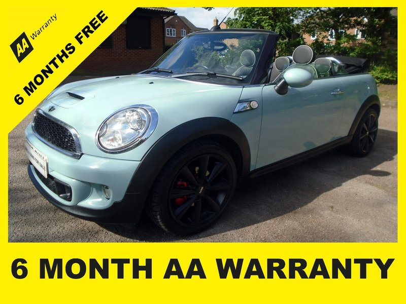 Mini Cooper Warranty >> Mini Cooper Convertible Cooper Sd 6 Month Aa Warranty 12