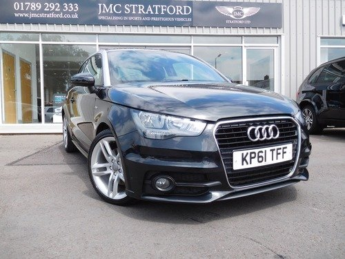Audi A1 1.4 TFSI S LINE S TRONIC 185 BHP LOW RATE FINANCE AT 6.9% APR Representative