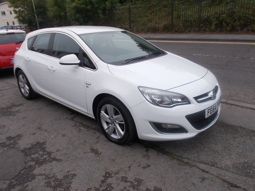 Vauxhall Astra 1.6CDTI SRI 136 PS BUY NO DEP & £45 A WEEK