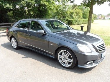 Mercedes E Class 2.1 E 250 CDI BLUEEFFICIENCY SPORT