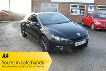 Volkswagen Scirocco GT TDI- Fabulous Coupe, refreshing to drive, its a fast front-wheel-drive & it has a retro ride which is great fun! Popular Car!