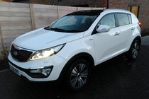 Kia Sportage 2.0 CRDi (181HP) KX-4 2WD/AWD NAV PAN ROOF LEATHER