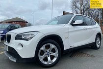 BMW X1 SDRIVE20d EFFICIENTDYNAMICS used car in alpine white