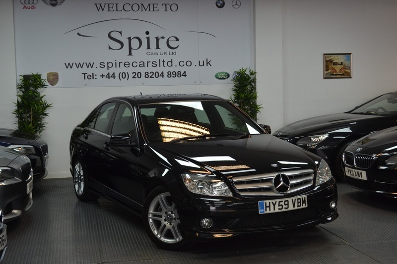 mercedes c class c200 cdi sport sold sold sold spire cars uk ltd. Black Bedroom Furniture Sets. Home Design Ideas