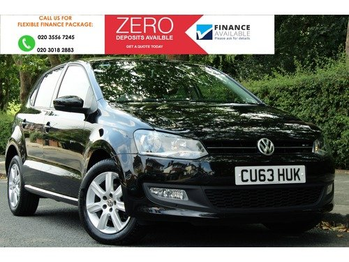 Volkswagen Polo 1.2 MATCH EDITION 60PS >> 1 LADY OWNER FROM NEW <<