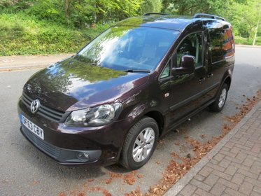 Volkswagen Caddy 1.6 TDi Life C20 Sirus Disabled Adapted Automatic