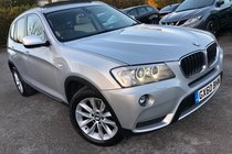 BMW X3 XDRIVE20d SE STEP AUTO GLASS ROOF