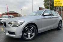 BMW 1 SERIES 116i SE +EXTRA SPEC+ used car in silver