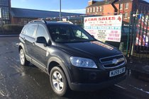 Chevrolet Captiva LS 2.4 PETROL 5DR 2009/59 ** 1 PRIVATE OWNER FROM BRAND NEW ** 12 MONTH MOT INCLUDED ** ROOF RAILS ** SPACIOUS BOOT ** MP3 **AUX