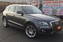 Audi Q5 2.0 TDI S LINE *** LOW 113,357 WARRANTED MILES *** 1 OWNER FROM NEW *** HUGE SPEC