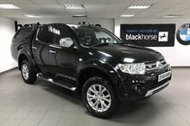 Mitsubishi L200 Di-d 4X4 Warrior LWB DOUBLE CAB + Leather/ Privacy Glass / Truckman Top