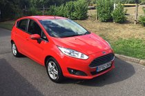 Ford Fiesta ZETEC FULL SERVICE HISTORY AUTOMATIC BLUETOOTH AND AIR CONDITIONING
