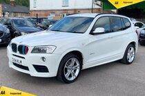 BMW X3 2.0 20d M Sport Auto xDrive 5dr