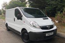 Vauxhall Vivaro 2700CDTI SWB SHR P/V