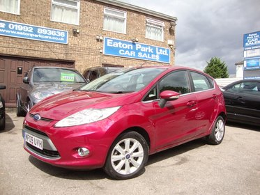 Ford Fiesta 1.4 ZETEC AUTOMATIC + 5 DOORS
