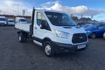 Ford Transit 350 L2 1 way Tipper .