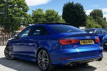 Audi S3 SALOON 2.0 TFSi QUATTRO S-TRONIC ** 1 OWNER FROM NEW + PAN ROOF + SUPER SPORT SEATS + CAMERA + TECH PACK + BANG & OLUFSEN **