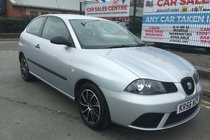SEAT Ibiza 12V CHILL 3DR 2006/56 ** WARRANTED LOW 57,940 MILES ** 11 SERVICE STAMPS ** MOT 03/04/2019 ** LAST SERVICED ON 56,979 MILES