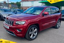 Jeep Grand Cherokee 3.0 V6 CRD Overland Auto 4WD 5dr