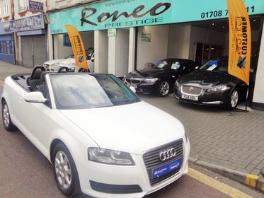 Audi A3 TDI CONVERTIBLE MANUAL, DIESEL