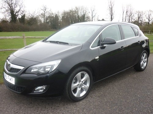 Vauxhall Astra 2.0CDTI 16V SRI (160PS) Automatic