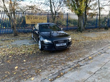 Audi A4 2.0 TDI S line Multitronic 4dr (Nav)