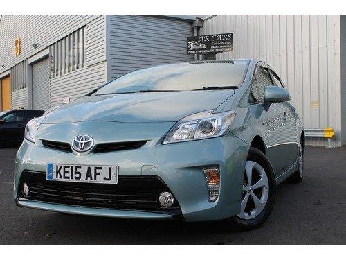 Toyota Prius T4 Vvt-i   Xenon Lights+Sat Nav+Bluetooth