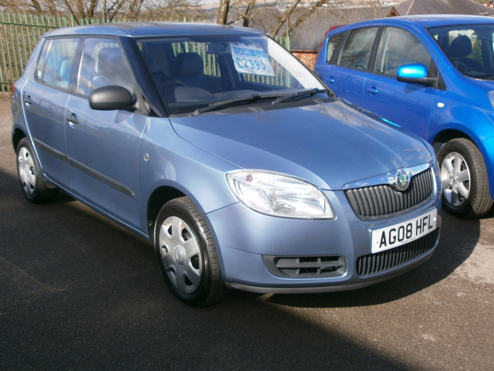 sirhowy garage skoda fabia 1 2 htp 1 70bhp. Black Bedroom Furniture Sets. Home Design Ideas