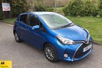 Toyota Yaris VVT-I ICON FULL SERVICE HISTORY BLUETOOTH SAT NAV AIR CON REVERSE CAMERA