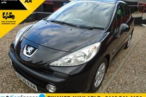 Peugeot 207 VERVE 6 MONTH WARRANTY-12 MONTH MOT-12 MONTH AA COVER-12 MONTH FULL SERVICE