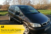 Vauxhall Zafira DESIGN 16V - MOT January 2021 - Warranty & AA Cover Included - Serviced & Safety Inspected
