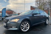 Skoda Superb SE TECHNOLOGY TDI DSG used car in grey