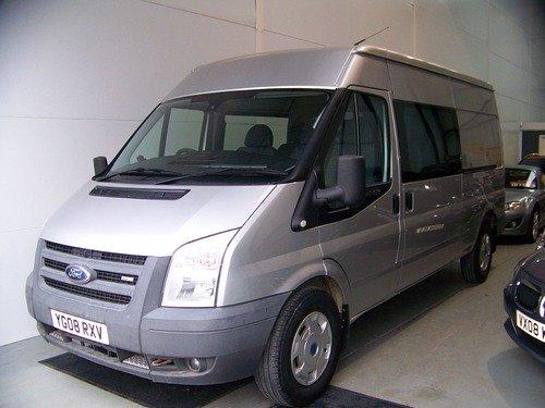 Ford Transit 350 LWB HR Double Cab 2.4 tdci 140 bhp