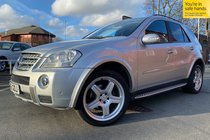 Mercedes M Class ML 320 CDI SPORT *AMG BODYKIT* used car in silver