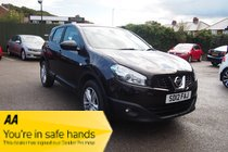 Nissan Qashqai DCI ACENTA GREAT SPEC ! BT/MEDIA ! 12 MONTHS MOT ! £31 PW & NO DEPOSIT !