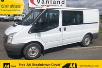 Ford Transit 2.2 TDCi 260 Low Roof D/Cab 85ps S 5dr (SWB)