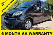 Renault Trafic LL29 STANDARD DCI 115 6 MONTH AA WARRANTY - 12 MONTH MOT - FULL SERVICE - 12 MONTH AA BREAKDOWN COVER